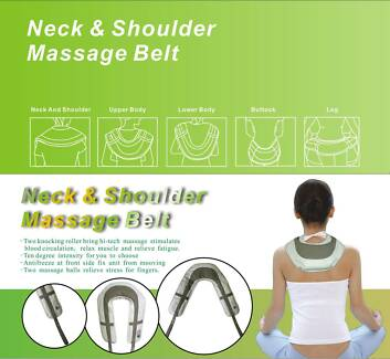 NEW NECK AND SHOULDER MASSAGER TAPPING BACK HIP LEG LUMBAR THIGH