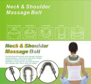 NEW NECK AND SHOULDER MASSAGER TAPPING BACK HIP LEG LUMBAR Moorabbin Kingston Area Preview