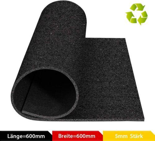 Antivibrationsmatte Matte Gummimatte Antirutschmatte für Waschmaschine 60x60cm