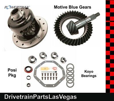 "Chrysler 9.25"" Posi Pkg Powertrax Grip LS Ring Pinion Kit 09 & Down 4.11 Ratio"