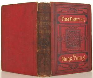 MARK-TWAIN-The-Adventures-of-Tom-Sawyer-TRUE-FIRST-EDITION