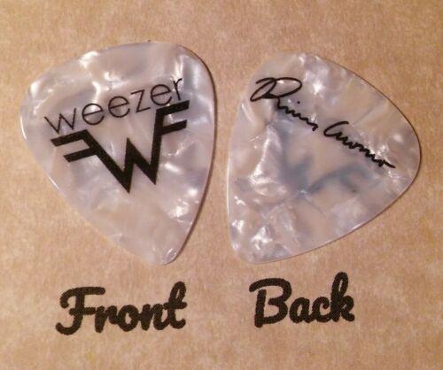 WEEZER band RIVERS CUOMO signature logo guitar pick  - (Q2)