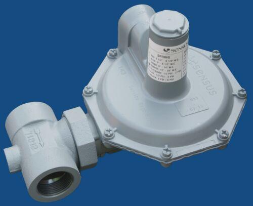 "Natural Gas Regulator, Sensus 143-80 -2  1 1/4"" NPT"