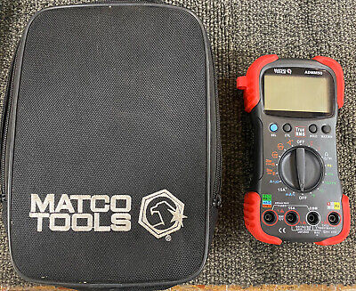 Matco Tools Admm50 Multimeter Pre-owned