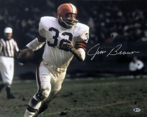 Jim Brown HOF Autographed Signed 8x10 Photo