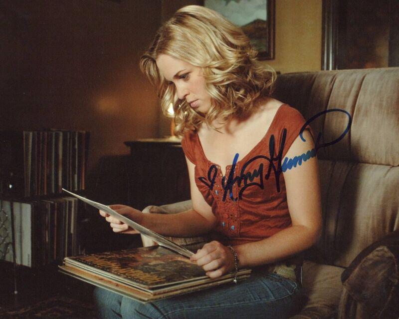 Amy Gumenick Supernatural Autographed Signed 8x10 Photo COA #5