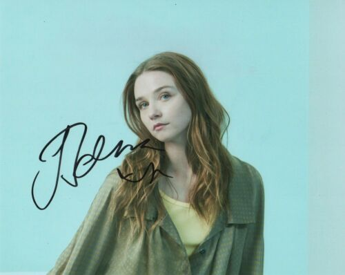 Jessica Barden End of the World Autographed Signed 8x10 Photo COA 2019-2