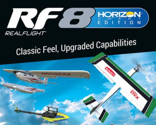 RealFlight 8 Horizon Hobby Edition (RFL1004) with InterLink Elite Controller