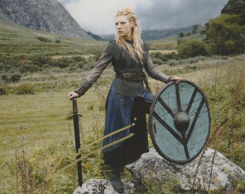 Katheryn Winnick Vikings Autographed Signed 8x10 Photo COA #EE322