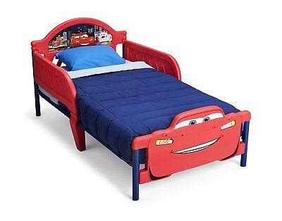 Disney Cars Headboard (Toddler Bed Disney Pixar Cars Lightning Mcqueen Delta Children)