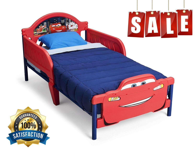 3d footboard toddler bed disney pixar cars