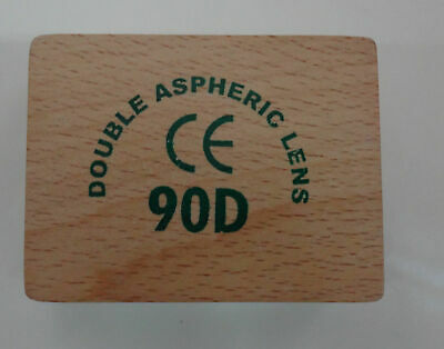 90d Double Aspheric Lens Ophthalmology In Wood Box - Gss Free Ship