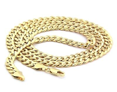 14k Gold Filled Italian - 14K GOLD FILLED ITALIAN CUBAN NECKLACE CHAIN