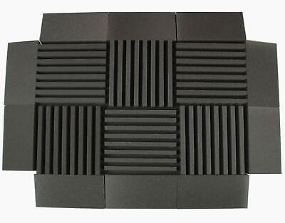 "4pcs 50*50*5cm Sound Absorption-Diffuse Acoustic Panel /""Pulsar/"" for rec.studio"