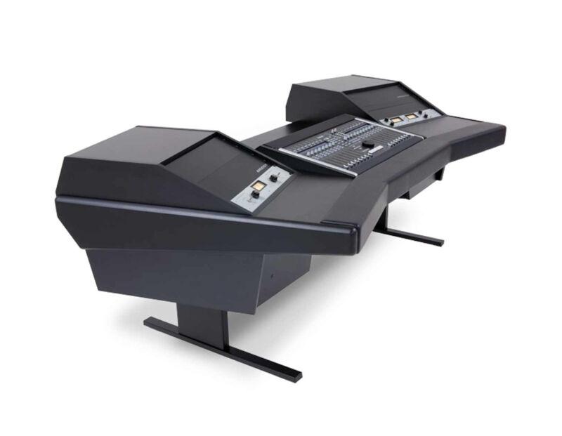 Argosy Dual 15-803 Desk For Ssl Nucleus D15-nuc-803-b-b   Pro Audio La