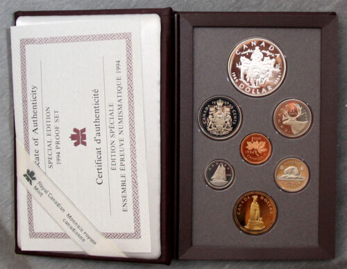 Canada 1994 Double Dollar Special Edition Proof set  #162056