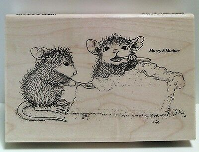 """New! House-Mouse """"Pumpkin Pie"""" WM Rubber Stamp"""