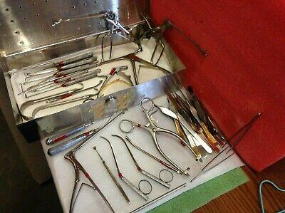 49pc Storz Codman V. Mueller Milton Stiwer Sklar Ent Surgical Instruments 29