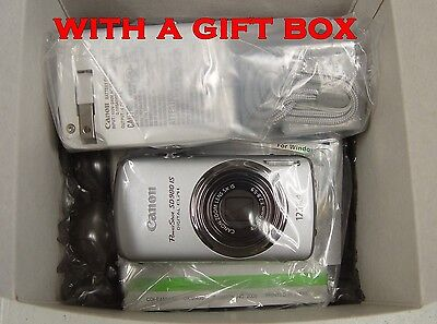 Mint! Canon PowerShot SD980 IS 12.1MP SD 980 *Gift Box Included* -- Touch Screen