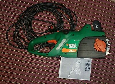 Black & Decker Electric Chainsaw GK1635T 35cm Good Condition