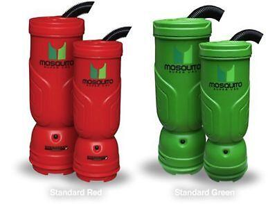 Mosquito 06-1062 6 Quart Super Hepa Backpack Vacuum- Green