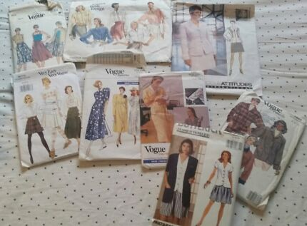 Bulk lot sewing patterns vintage  Kambah Tuggeranong Preview