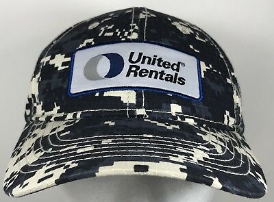 United Rentals Digital Camo Cap Adjustable Hat Employee