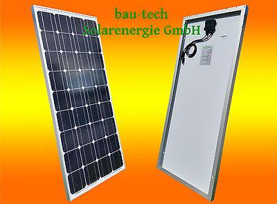100Watt Solarpanel, Solarmodul, PV MODUL, Solar Zelle Platte, Monokristallin