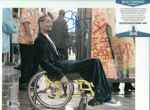SNOOP DOGG signed (TRAINING DAY) autographed Movie 8X10 photo BAS BECKETT T42914