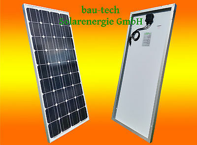 100w 100 watts module solaire 12v monocristallin panneau camping camping-car