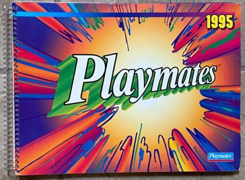 Playmates 1995 Toy Catalog TMNT EXO Squad StarTrek, WildCATS Skeleton Warriors