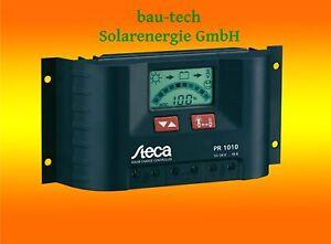 Steca LCD Display PR 1010 Solar Laderegler 12V 24V Wohnmobil Camping Solaranlage
