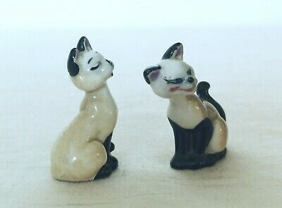 Wade Disney Hatbox Whimsie Lady & The Tramp Si & Am Siamese Cats. 1 is perfect, used for sale  Shipping to Ireland