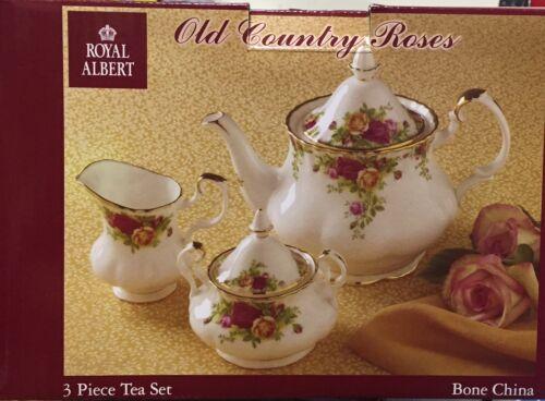 Royal Albert - Old Country Roses - Tea Set 3 Piece