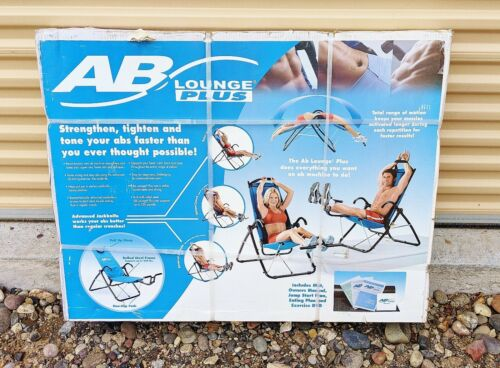 New AB Lounge PLUS with Mat, Owner