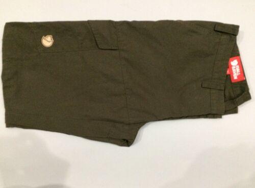 Women's Fjallraven Karla Hiking Cargo Pants Olive Green EU 38 US 10 Unhemmed