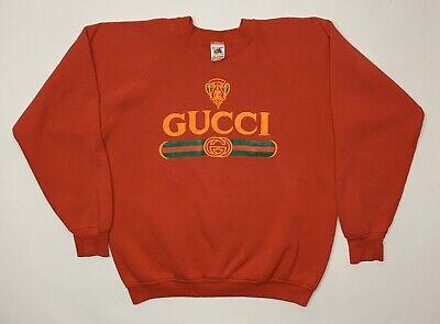 Vjntage Bootleg Gucci Crewneck Sweatshirt & Sweatpants Set