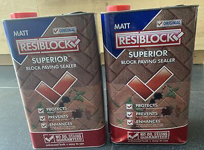 RESIBLOCK Superior Block Paving Sealer