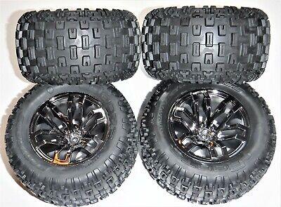 ARRMA GRANITE 1/10 4X4 BL Tires and Wheel (4)