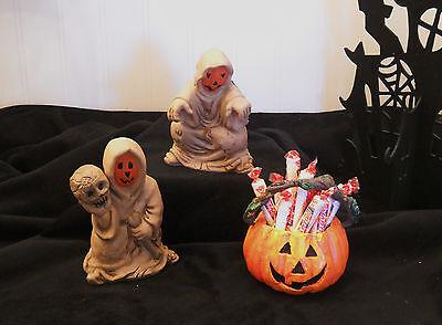 Halloween Gruesome Goblins - Centerpieces - Decorations - with Candy  Dish - Gruesome Halloween Decorations