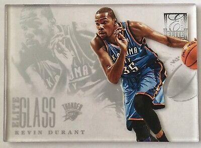 2012-13 Kevin Durant Elite Glass Panini Elite (Kevin Durant Glasses)
