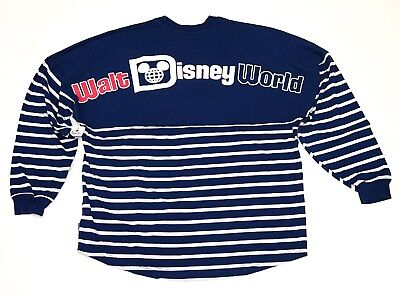 Blank Spirit Jersey (Disney Parks Walt Disney World Americana Red White SPIRIT JERSEY Long Sleeve)