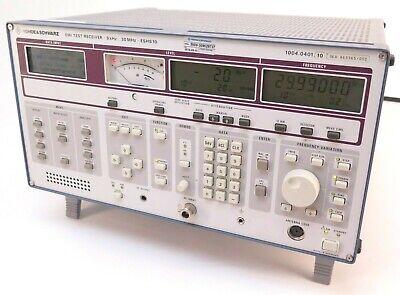 Rohde Schwarz Emi Test Receiver Eshs10 9khz-30mhz