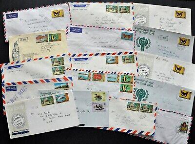 Lot of 16 Covers Issued in KIRIBATI CV~$30. (BI#82A/200322-MY)