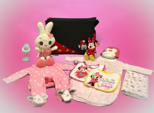 Disney Minnie Mouse & Friends Diaper Bag & Baby Accessories