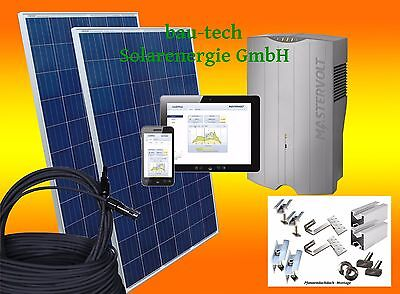 1 KW Photovoltaikanlage Solaranlage Komplett Set für Hausnetzeinspeisung