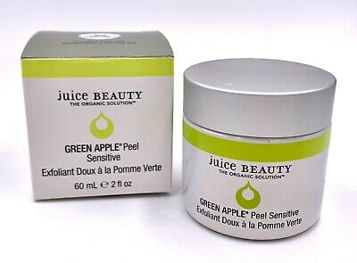 Juice Beauty Green Apple Peel Sensitive 2oz/60ml BNIB $42 Retail Green Apple Peel