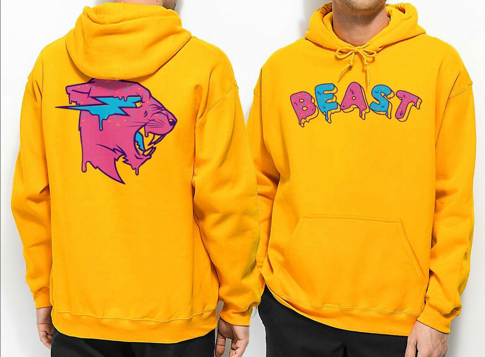 Frosted Beast Hoodie Mr Beast Yum Yum Hoodie MrBeast Merch Adult Mr Beast  Hoodie | eBay