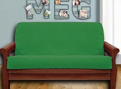 NEW - Kelly Green FUTON COVER - Full Size COTTON Cotton Futon Cover