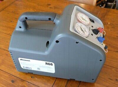 Robinair Rg6 Refrigerant Recovery Machine 2019 Mfg - Barely Used